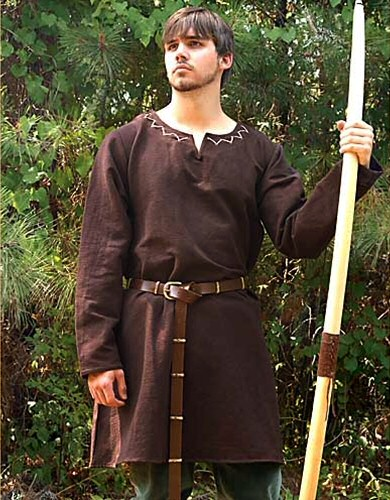 Lordi Huntingdonin ruskea alustunika