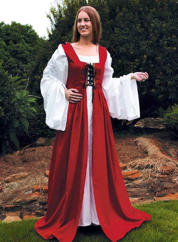 Punainen neidon mekko