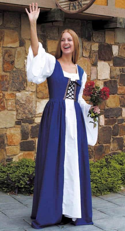 Sininen neidon mekko