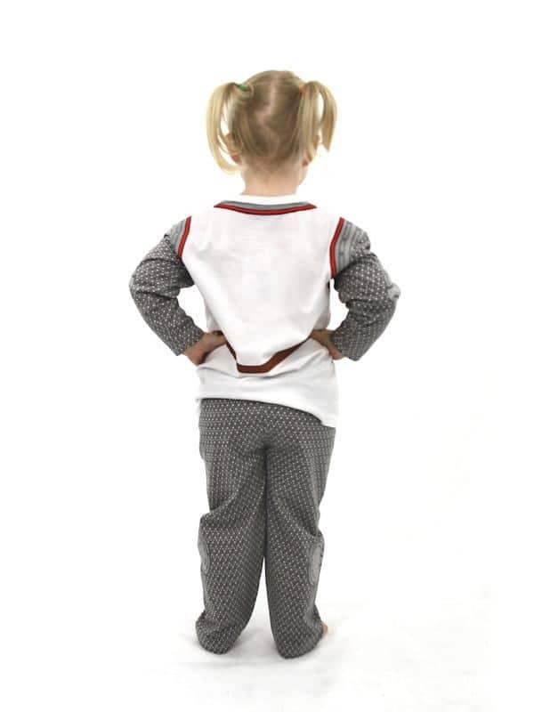 Englannin ritari -asu/pyjama