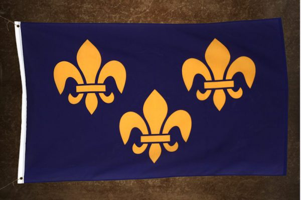 Ranskan kuninkaallinen lippu / Ranskanlilja
