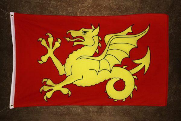 Wessexin lohikäärmelippu