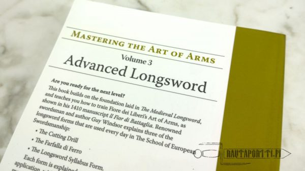 Advanced Longsword: Form and Function -kirja