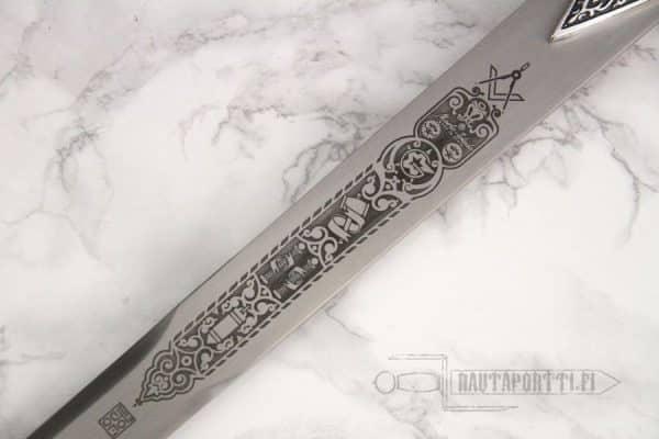 Vapaamuurarien miekka -75cm