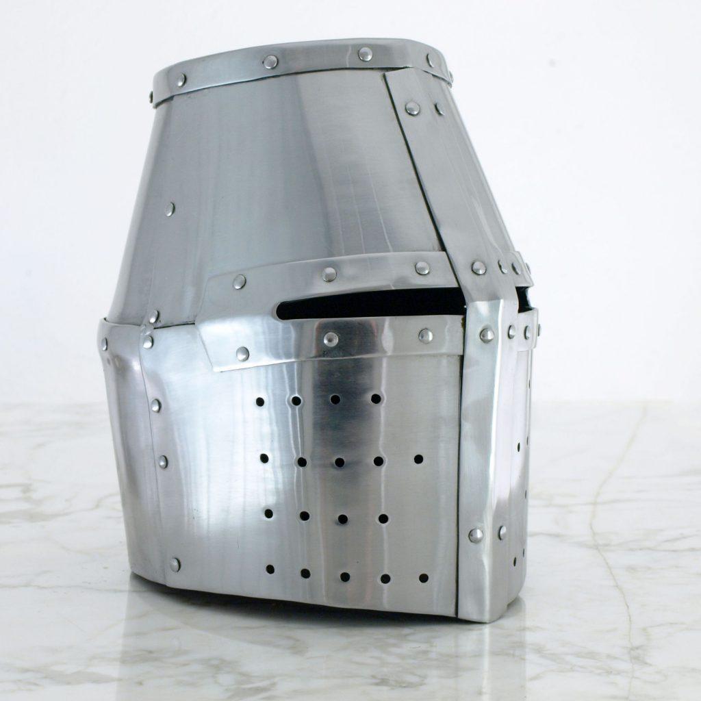 Crusader Great Helm -for Buhurt